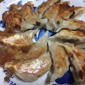丸和商店の餃子の焼き方