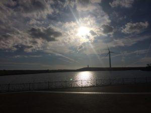 掛塚灯台の距離