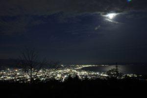野田山健康緑地公園からの夜景