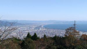 野田山健康緑地公園からの風景