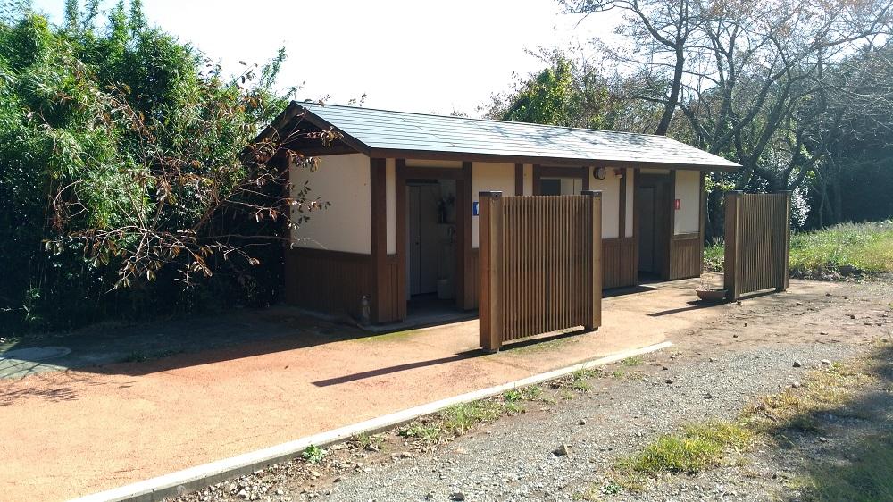 野田山健康緑地公園のトイレ