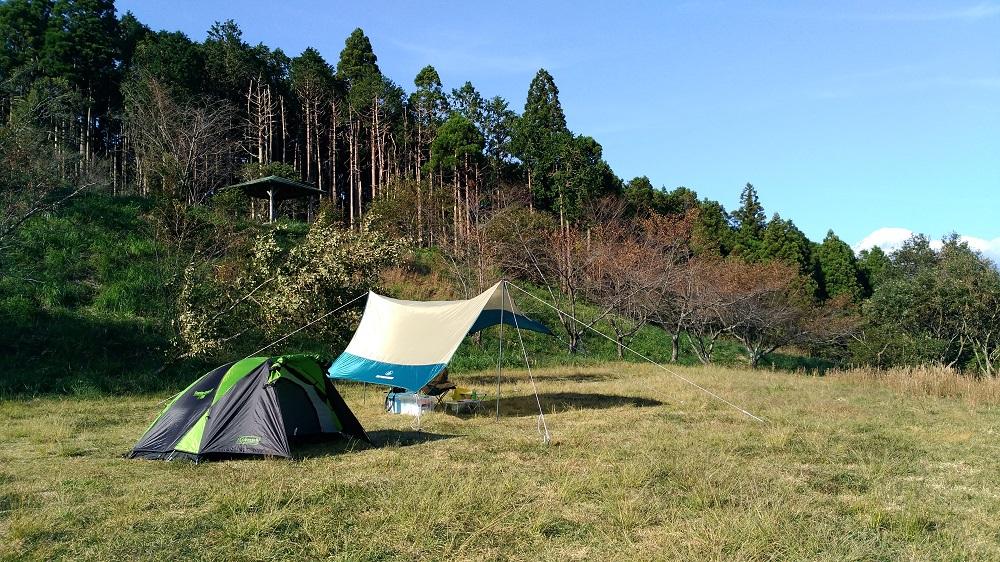 野田山健康緑地公園キャンプ場貸切