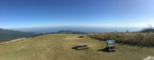 頂上からの眺め