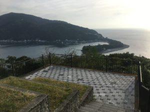 出逢い岬からの眺め