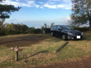 達磨山キャンプ場16番