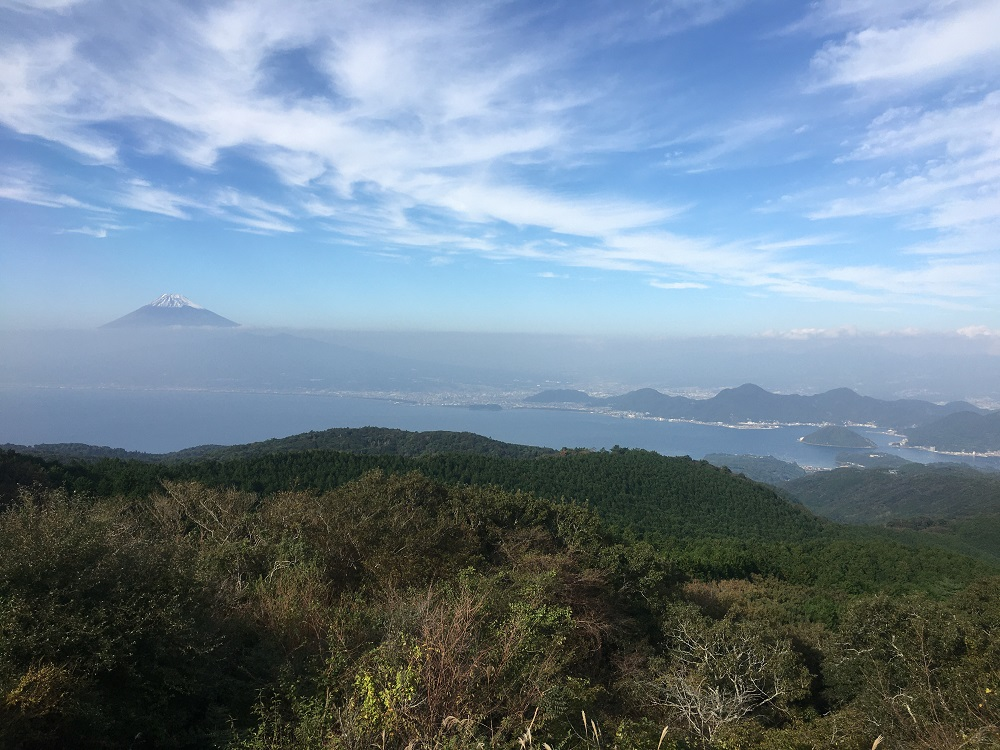 達磨山高原レストハウスの眺め