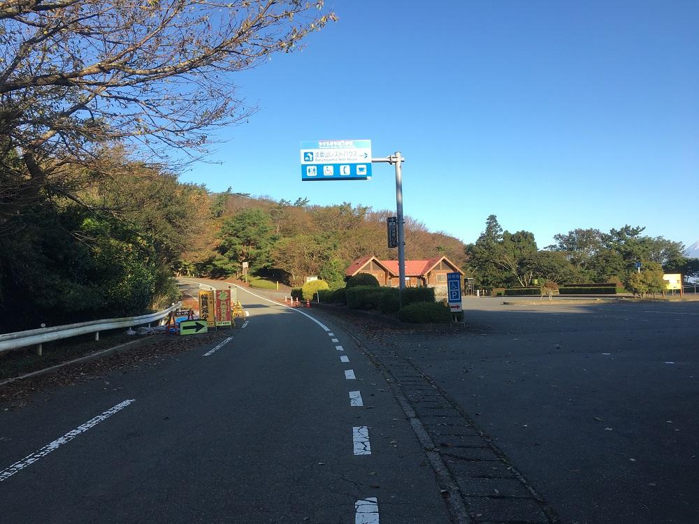 達磨山高原レストハウス駐車場