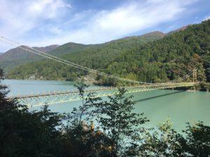 井川大吊橋