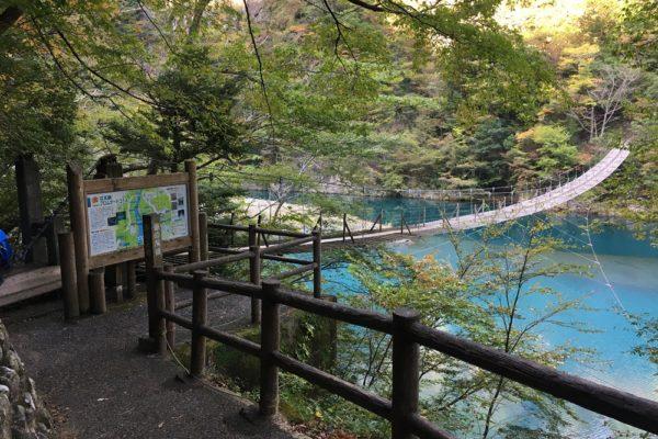 寸又峡夢の吊橋