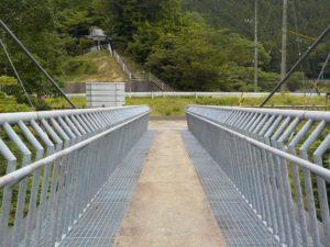 南アルプス接岨大橋振り返り