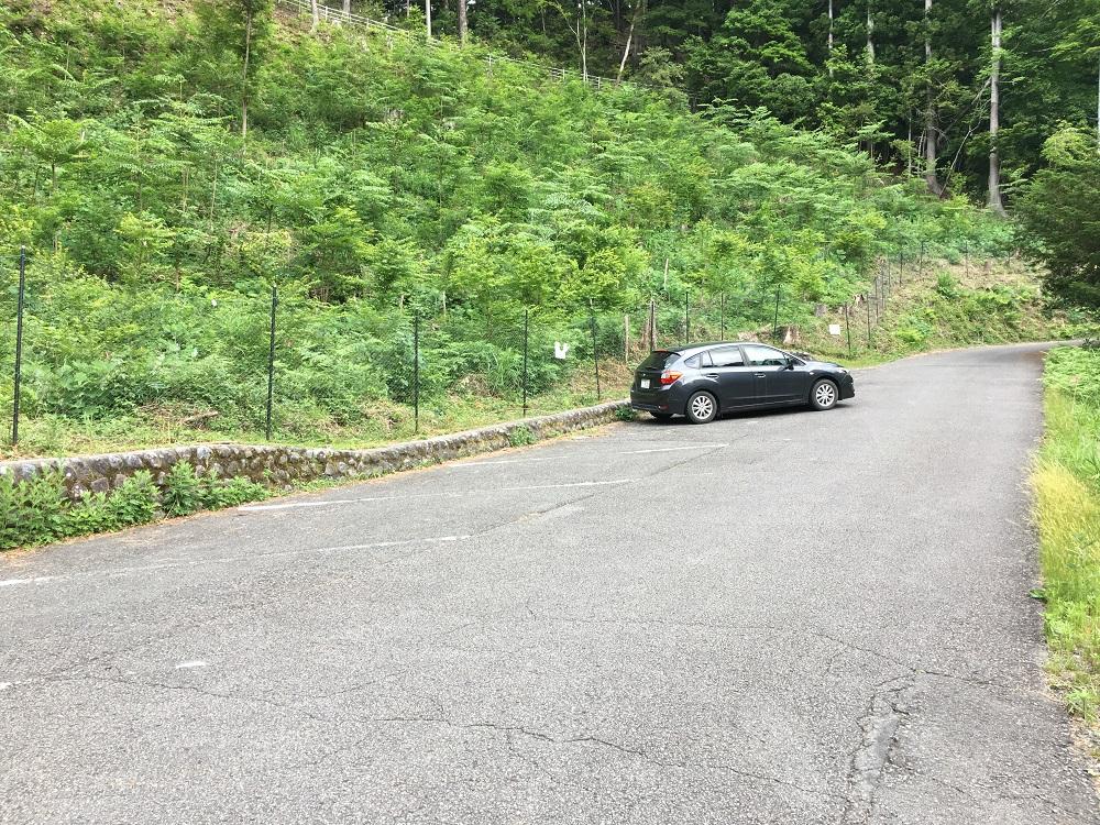 奥大井湖上駅駐車場