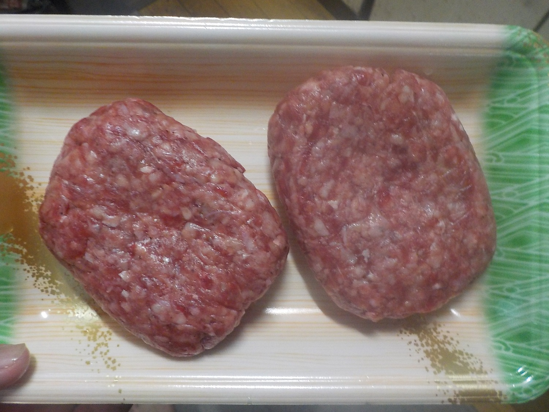 そのまんま肉バーグ整形