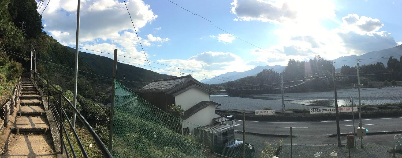 久野脇橋階段長