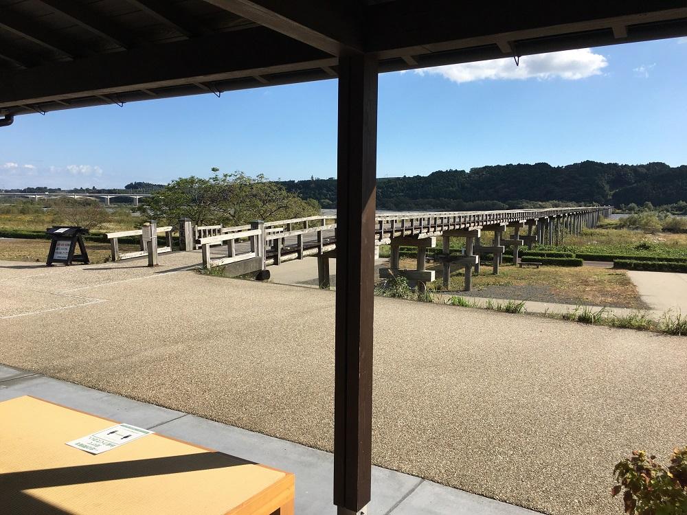 蓬莱茶屋からの風景