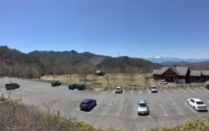 みずがき山自然公園キャンプ場全景